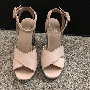 Mix No. 6 platform heels